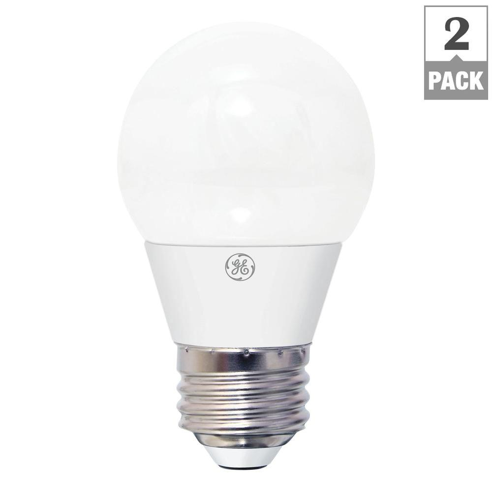 GE 40W Equivalent Daylight A15 White Ceiling Fan LED Light