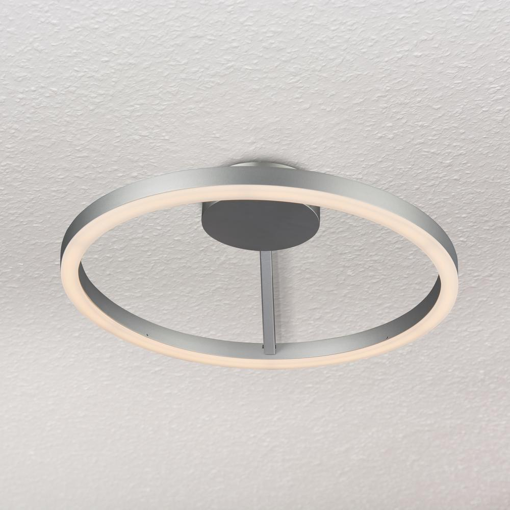 Lights Ceiling Vonn Lighting Zuben Collection 20 In Silver Integrated Led Modern Circular Ceiling Fixture