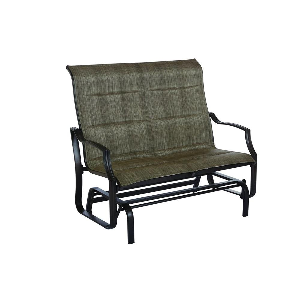 Backyard Chairs Statesville Metal Patio Outdoor Double Glider