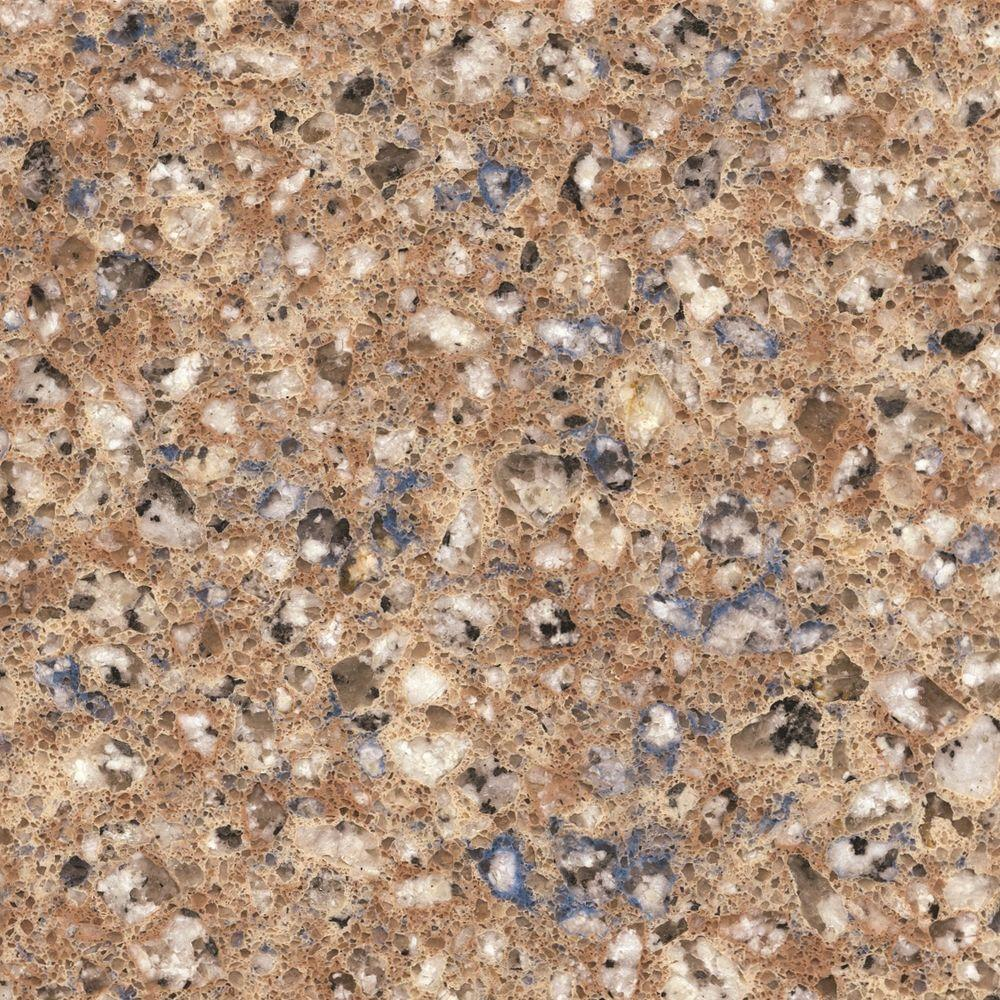 Quartz Countertop Prices Canada Silestone 2 In X 4 In Quartz Countertop Sample In Blue Sahara