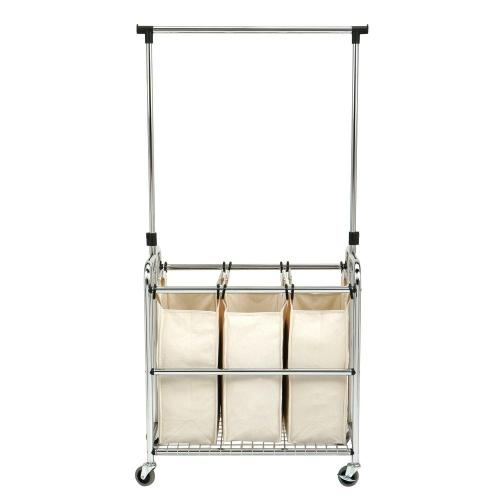Medium Of Rolling Laundry Cart