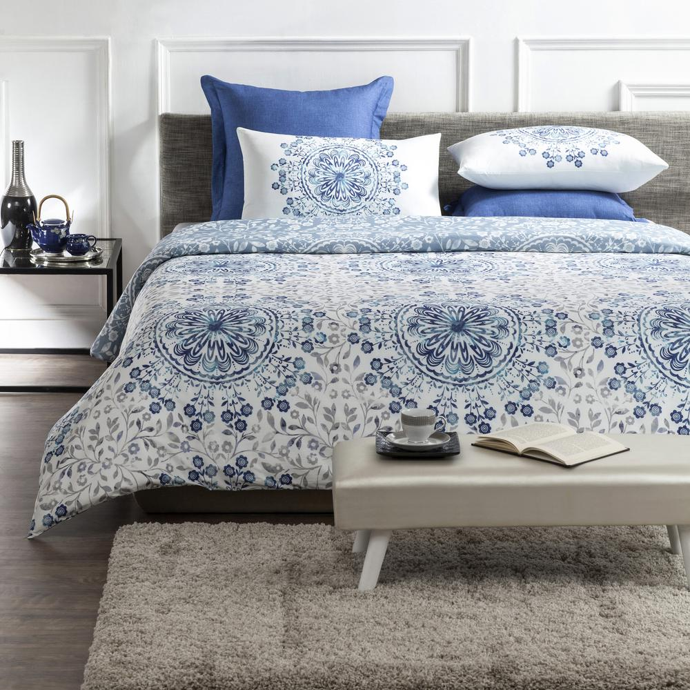 Patterned Duvet Cover Blue And White Patterned Duvet Cover Sweetgalas