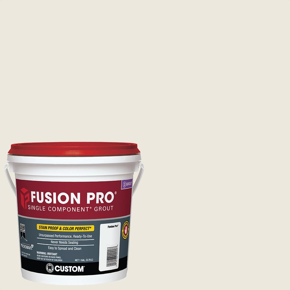 Fusion Pro Custom Building Products Fusion Pro 381 Bright White 1 Gal Single Component Grout