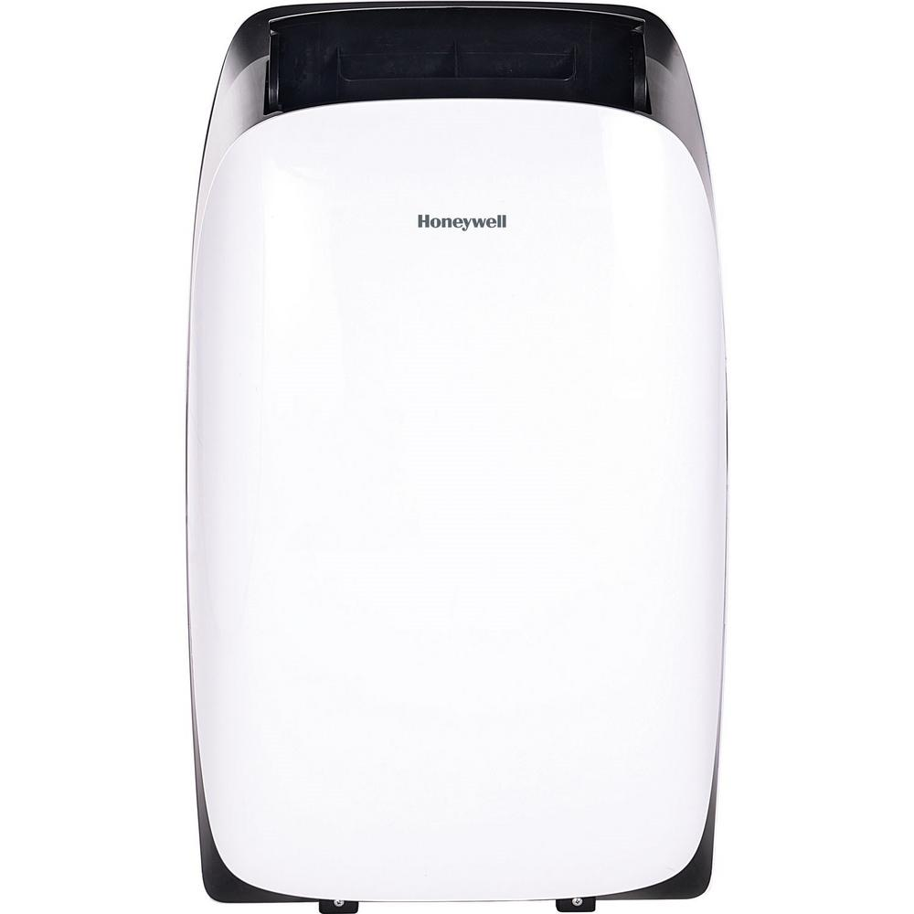 Portable Ac Home Depot Honeywell Hl Series 12 000 Btu 115 Volt Portable Air Conditioner With Dehumidifier And Remote Control In White And Black