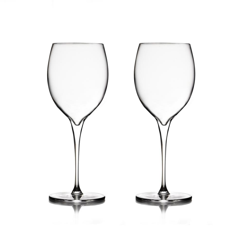 Chardonnay Wine Glass Nambe Vie 18 Oz Chardonnay Glass 2 Pack