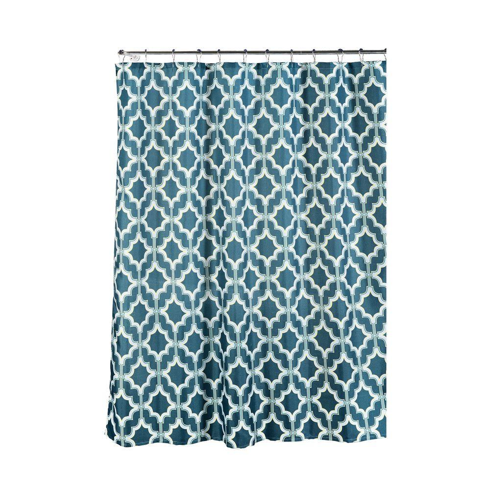 Rv Shower Curtain 47 X 64 Shower Curtains Shower Accessories The Home Depot