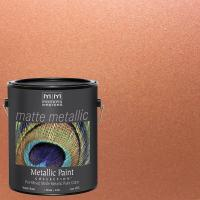 Modern Masters 1 gal. Copper Penny Metallic Interior Paint ...