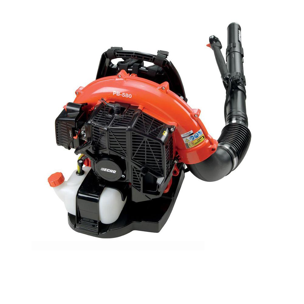 ???echo Echo 215 Mph 510 Cfm 58 2cc Gas 2 Stroke Cycle Backpack Leaf Blower With Tube Throttle