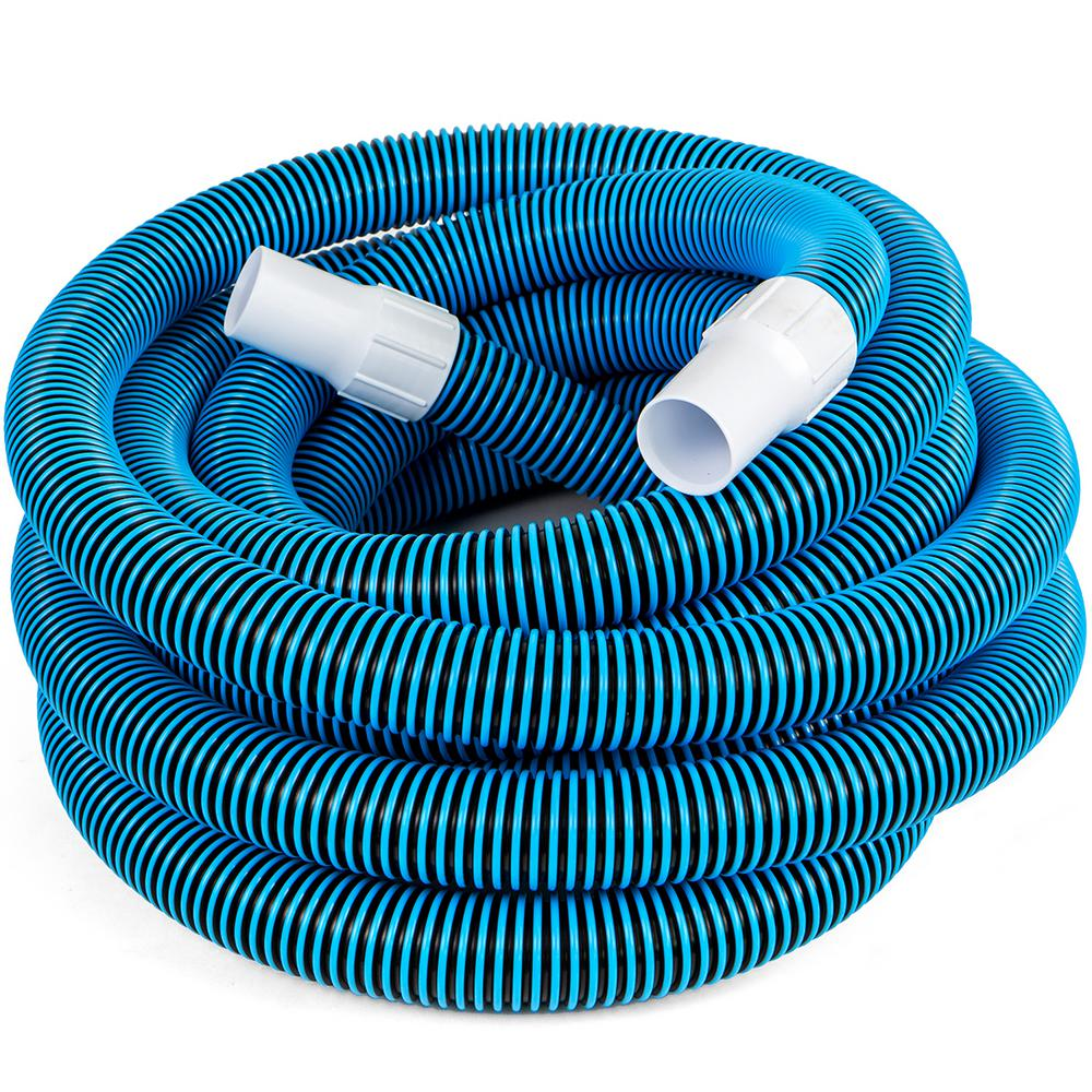 Pool Hose Xtremepowerus 1 1 2 In X 30 Ft In Ground Pool Vacuum Hose
