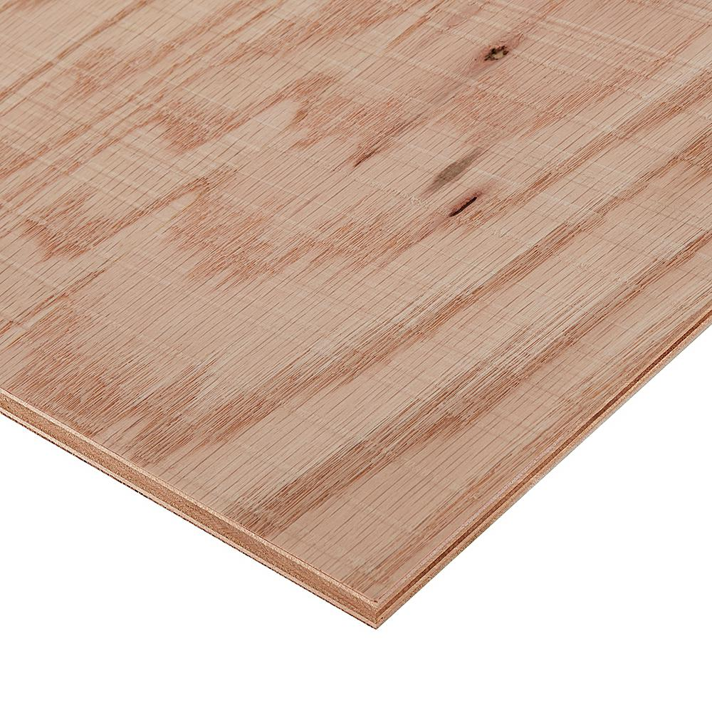 Oak Plywood Columbia Forest Products 3 4 In X 2 Ft X 4 Ft Rough Sawn Red Oak Plywood Project Panel