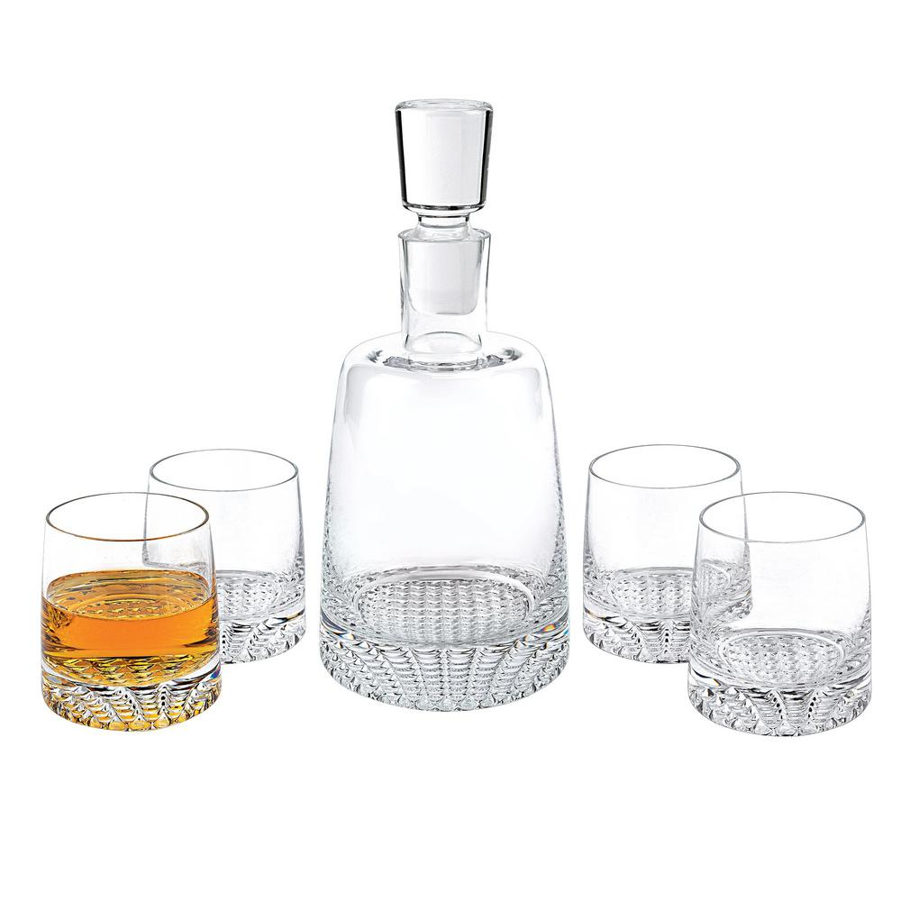 Whiskey Set Park Avenue 5 Piece Whiskey Set