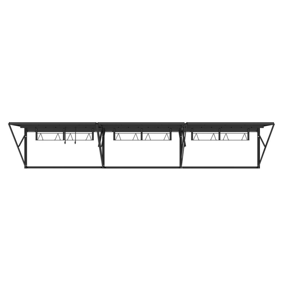Garage Racks Austin Tx Husky 28 In H X 144 In W X 28 In D Heavy Duty Steel Wall