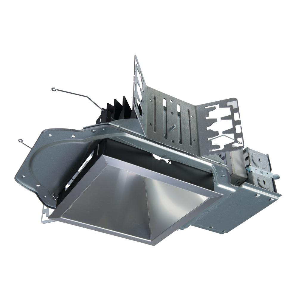 Led Shop24 Ld6b 6 In Integrated Led Recessed Light Housing At 2000 Lumens 1 Dimmable Driver New Construction