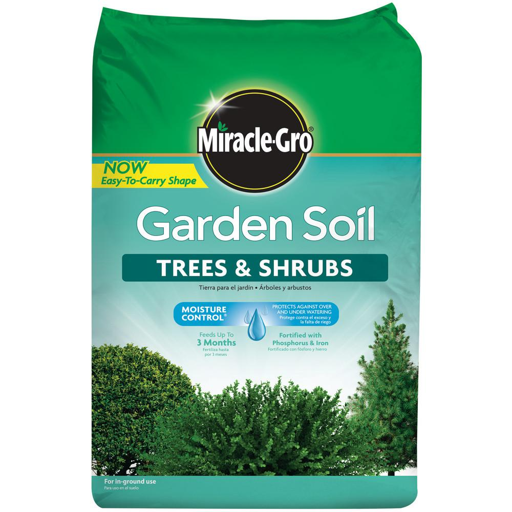 Trees And Shrubs Miracle Gro 1 5 Cu Ft Garden Soil For Trees And Shrubs
