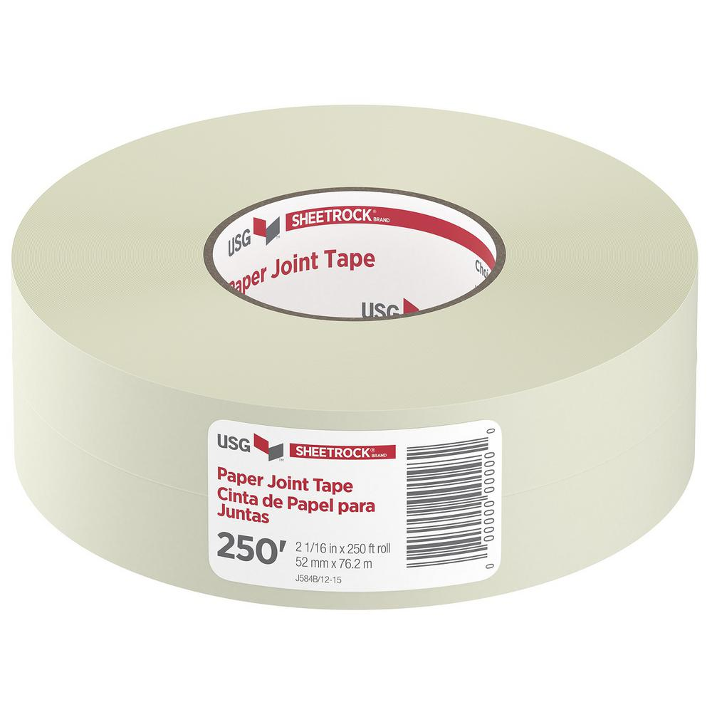 Drywall Paper Tape Usg Sheetrock Brand 250 Ft Drywall Joint Tape