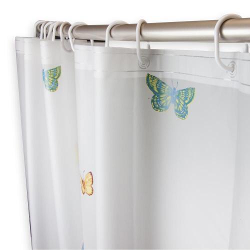 Medium Crop Of Butterfly Shower Curtain