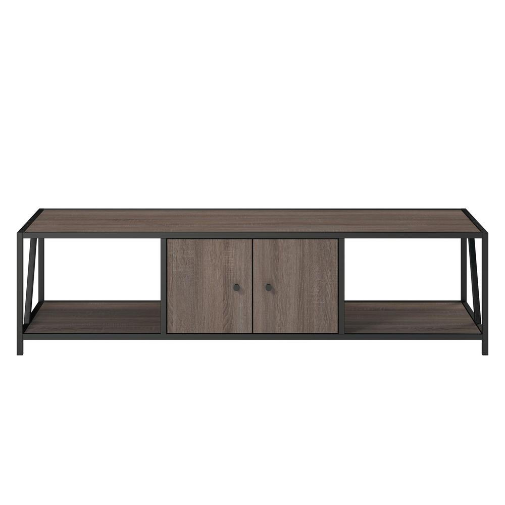 Flat Screen Tv Stands Ameriwood 65 In Harmony Weathered Oak Tv Stand
