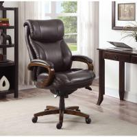 La-Z Boy Tafford Vino Bonded Leather Executive Office ...