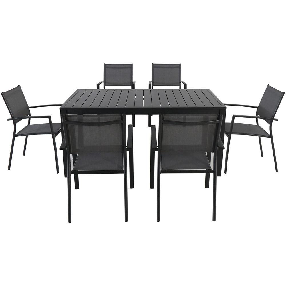 Patio Furniture Sale Mississauga Nova 7 Piece Aluminum Rectangular Outdoor Dining Set