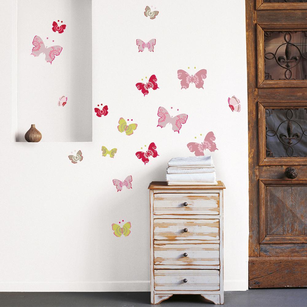 Prodigious Nouvelles Images Multicolor Butterflies Wall Decal Nouvelles Images Multicolor Butterflies Wall Butterfly Wall Decals Uk Butterfly Wall Decals Walmart baby Butterfly Wall Decals