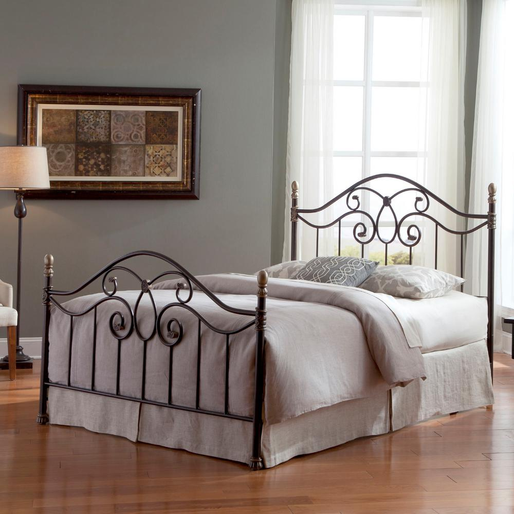 King Bed With Posts Fashion Bed Group Dynasty Autumn Brown King Size Complete Bed With