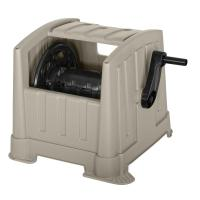 Compact Outdoor Hideaway Hose Reel Water Lawn System ...