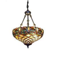 Serena D'italia Tiffany 2-Light Baroque Bronze Hanging ...