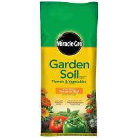 Miracle-Gro 2 cu. ft. Garden Soil for Flowers and ...