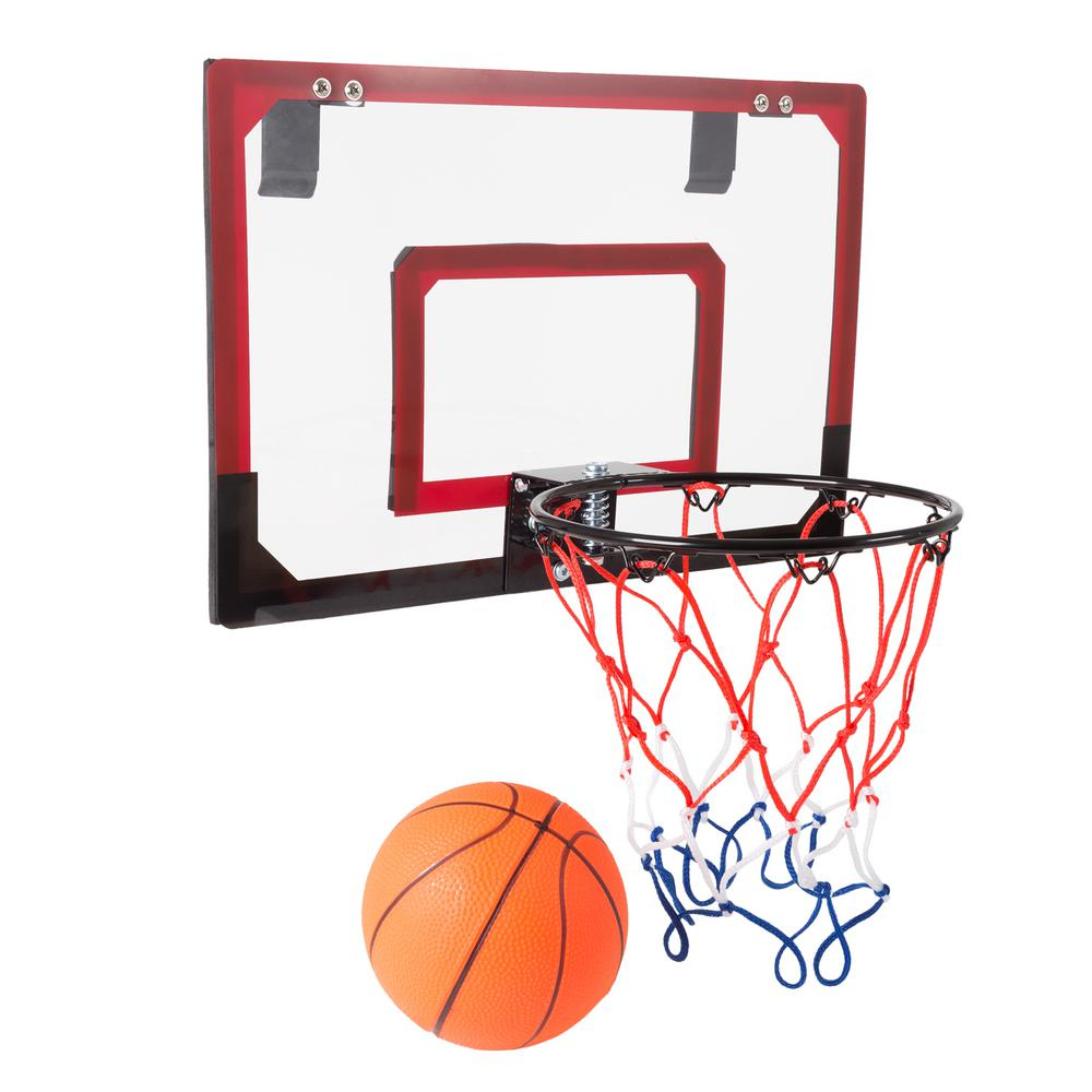 Basketball Ball Hey Play Mini Basketball Hoop With Ball And Breakaway Spring Rim