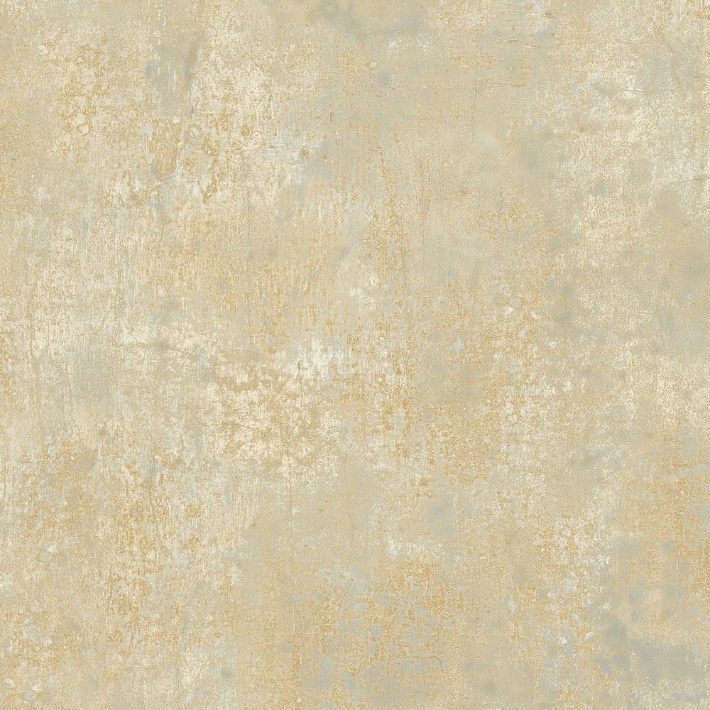 Metallic Gold Wallpaper Blue With Metallic Gold Veining Frost Wallpaper