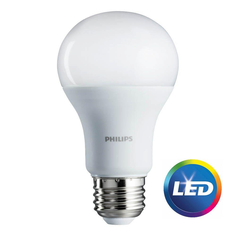 Bulb Philips Details About Philips Led Light Bulb A19 100w Equivalent Daylight Household Energy Saver 8pack