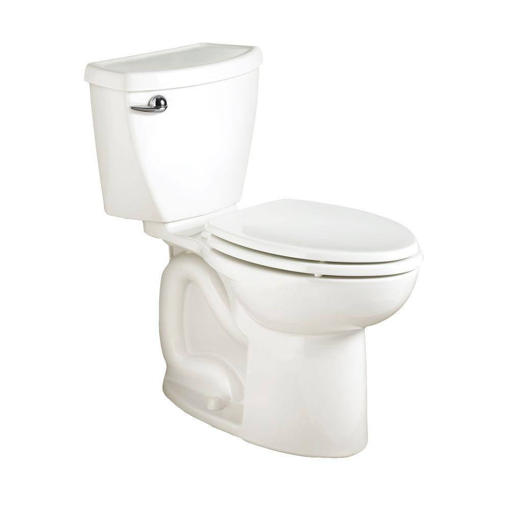 10 Inch Rough In Toilet Canada American Standard Cadet 3 Powerwash Tall Height 10 In Rough 2 Piece 1 6 Gpf Single Flush Elongated Toilet In White Seat Not Included
