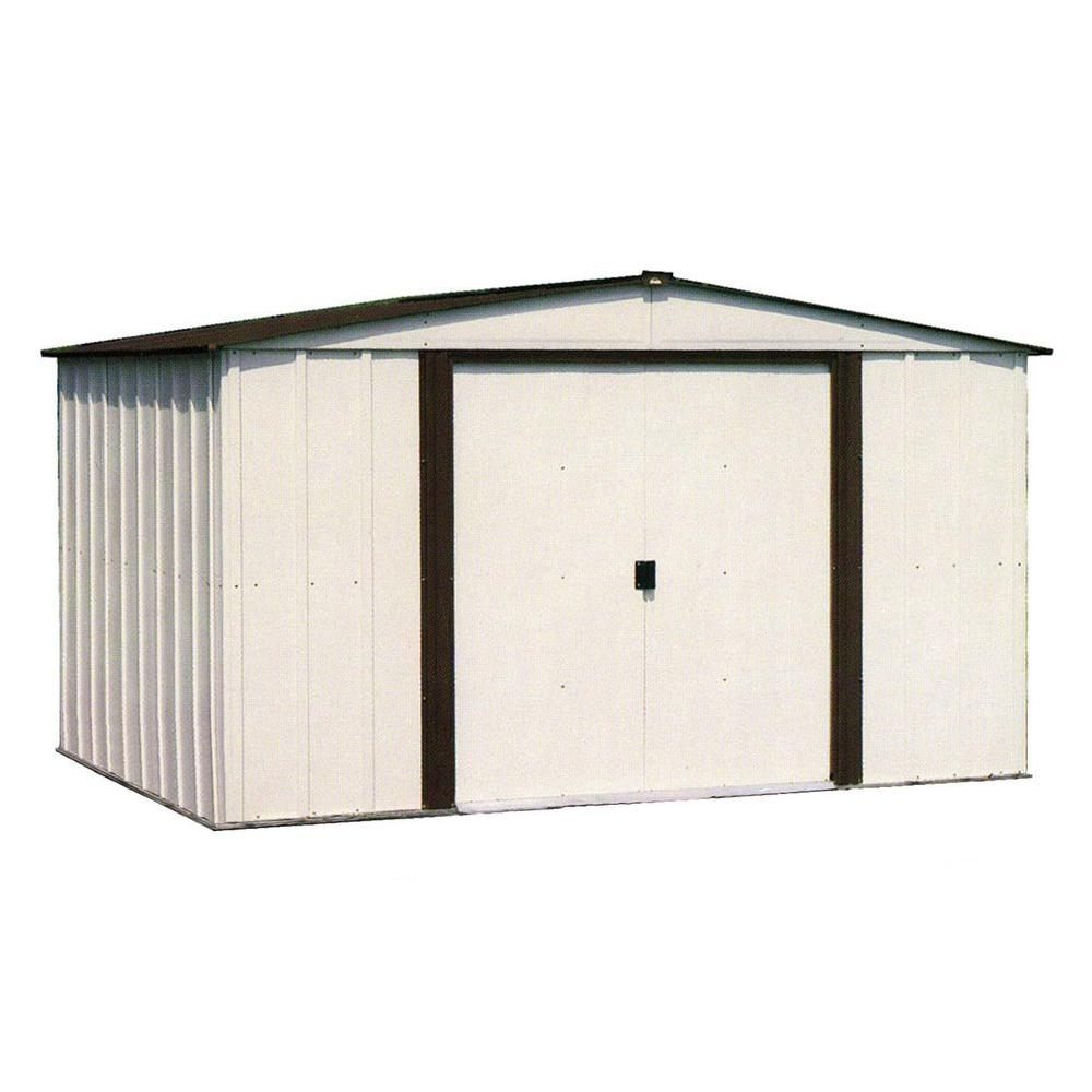Steel Storage Sheds Arrow Newburgh 10 Ft X 8 Ft Metal Storage Building