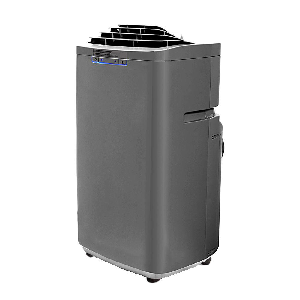 Portable Ac Home Depot Whynter Eco Friendly 13 000 Btu Dual Hose Portable Air Conditioner With Dehumidifier