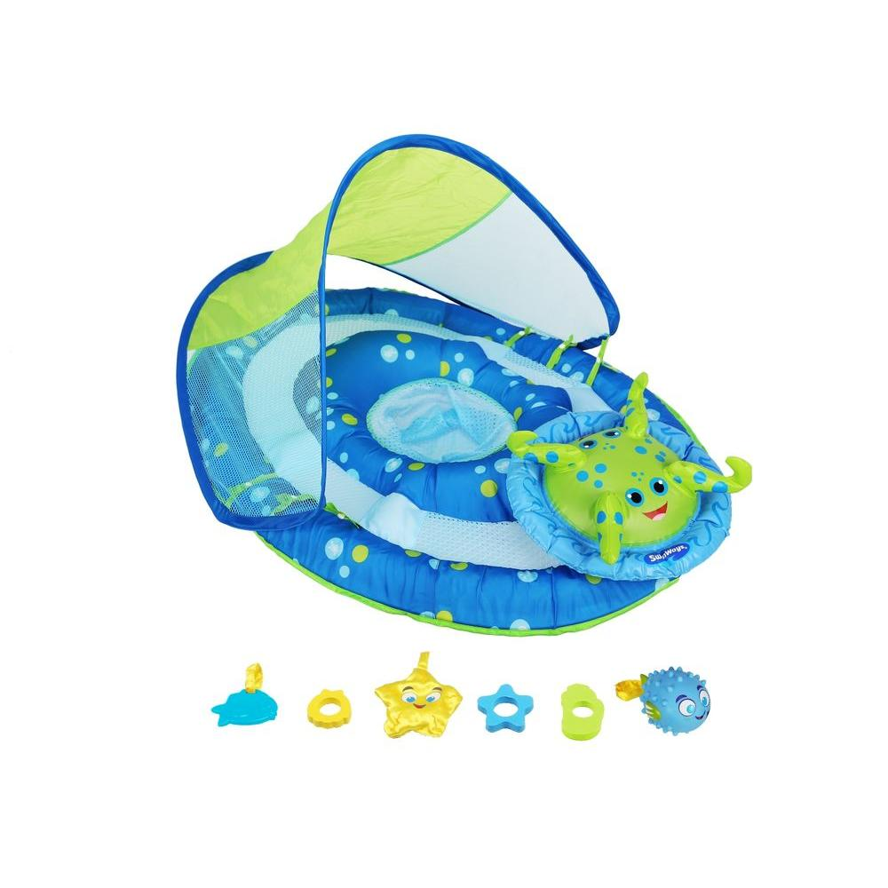 Baby Activity Center Swim Ways Baby Spring Float Activity Canopy