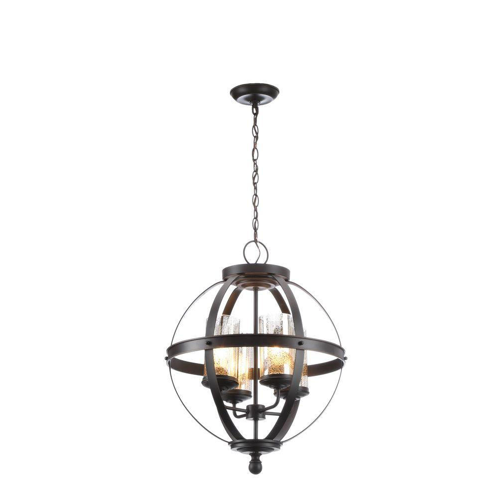 Sfera Online Shop Deutschland Sea Gull Lighting Sfera 18 5 In W 4 Light Autumn Bronze Chandelier With Mercury Glass Shade