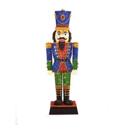 Nutcrackers - Outdoor Christmas Decorations - Christmas - home depot outdoor christmas decorations
