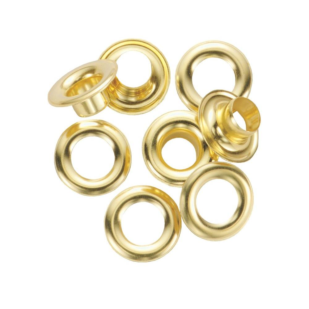 1 2 Grommet General Tools 1 2 In Refill Solid Brass Grommet Kit And Refill 12 Pack
