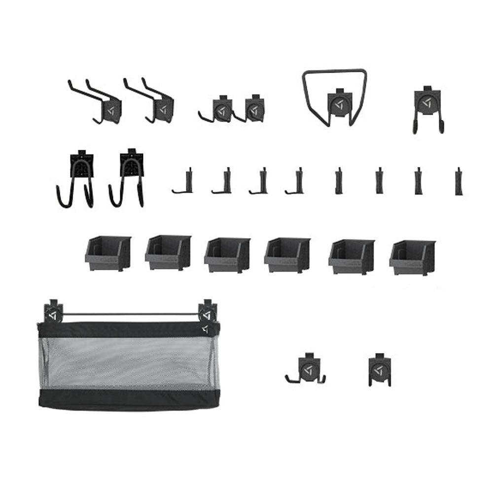 Gladiator Garage Wall Accessories Gladiator Geartrack And Gearwall Garage Hook Accessory Kit 2