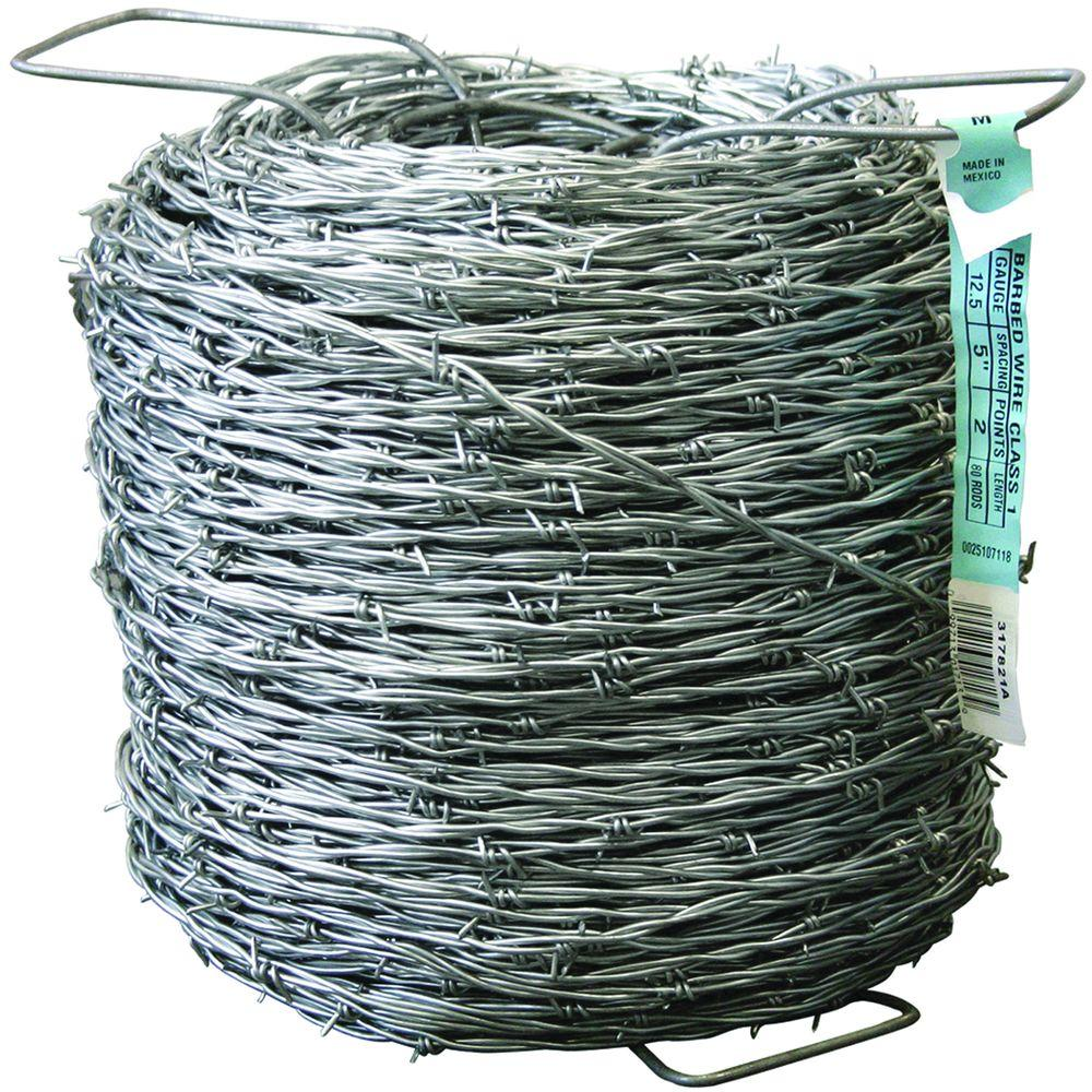 Wire Fencing Farmgard 1320 Ft 12 1 2 Gauge 2 Point Class I Barbed Wire