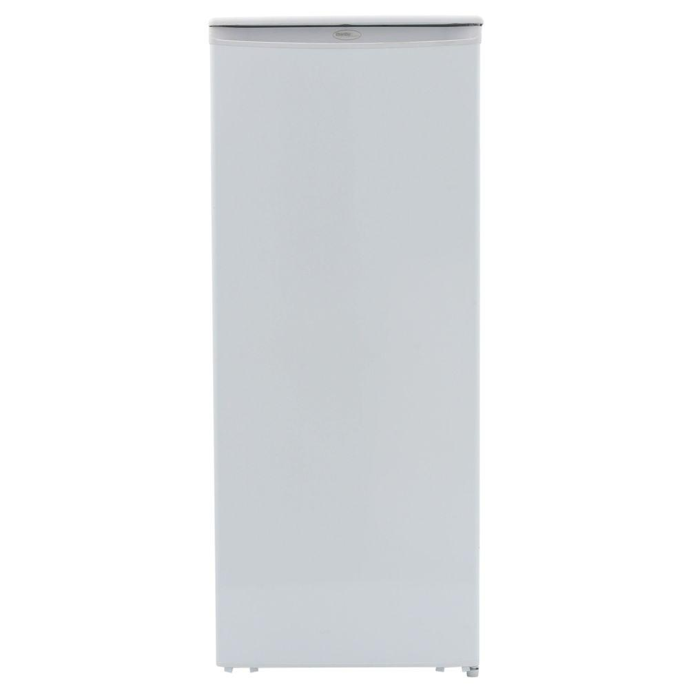 Home Depot Fridges Canada Designer 24 In W 11 Cu Ft Freezerless Refrigerator In White Counter Depth