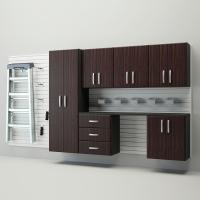 Flow Wall Deluxe Modular Wall Mounted Garage Cabinet ...