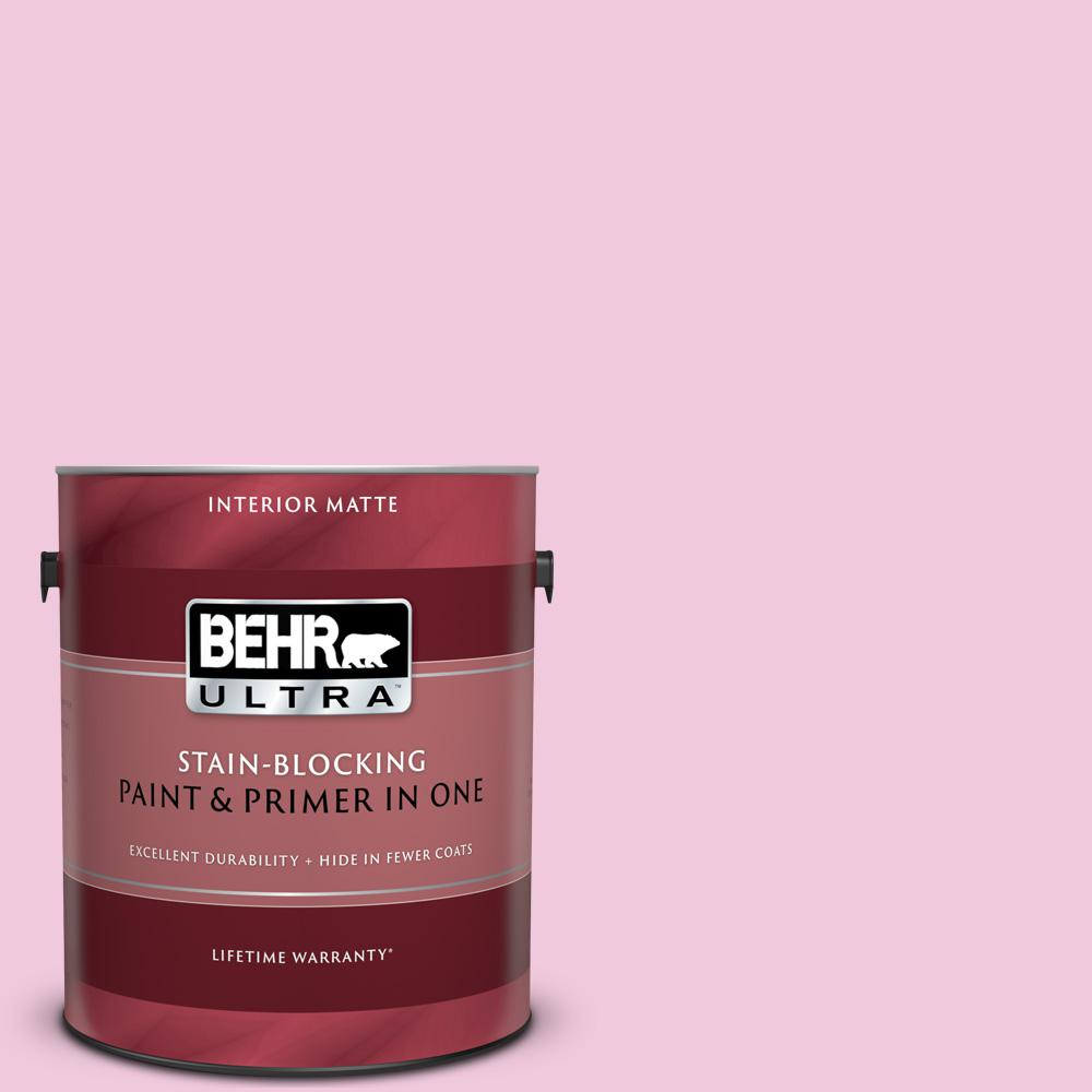 Bank St Home Depot Behr Ultra 1 Gal P130 1 Piggy Bank Matte Interior Paint And Primer In One