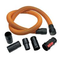 RIDGID 1-7/8 in. x 10 ft. Pro-Grade Vacuum Hose Kit for ...