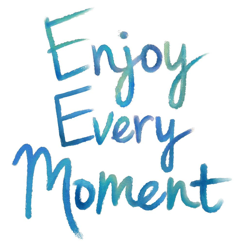 Images Of Inspiring Quotes Wallpaper Wallpops 17 25 In X 19 5 In Enjoy Every Moment Wall