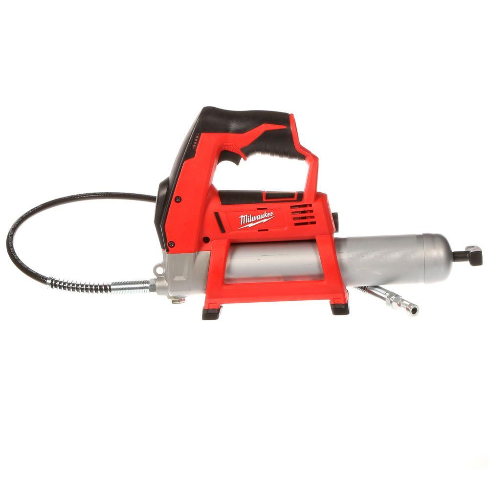 Electric Grease Gun M12 12 Volt Lithium Ion Cordless Grease Gun Tool Only