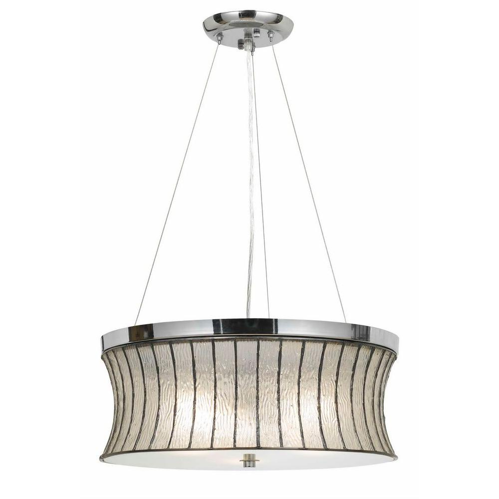 Modern Chandeliers Australia Cal Lighting 1 Light Hardwire Multi Color Chrome Ceiling Mount Pendant