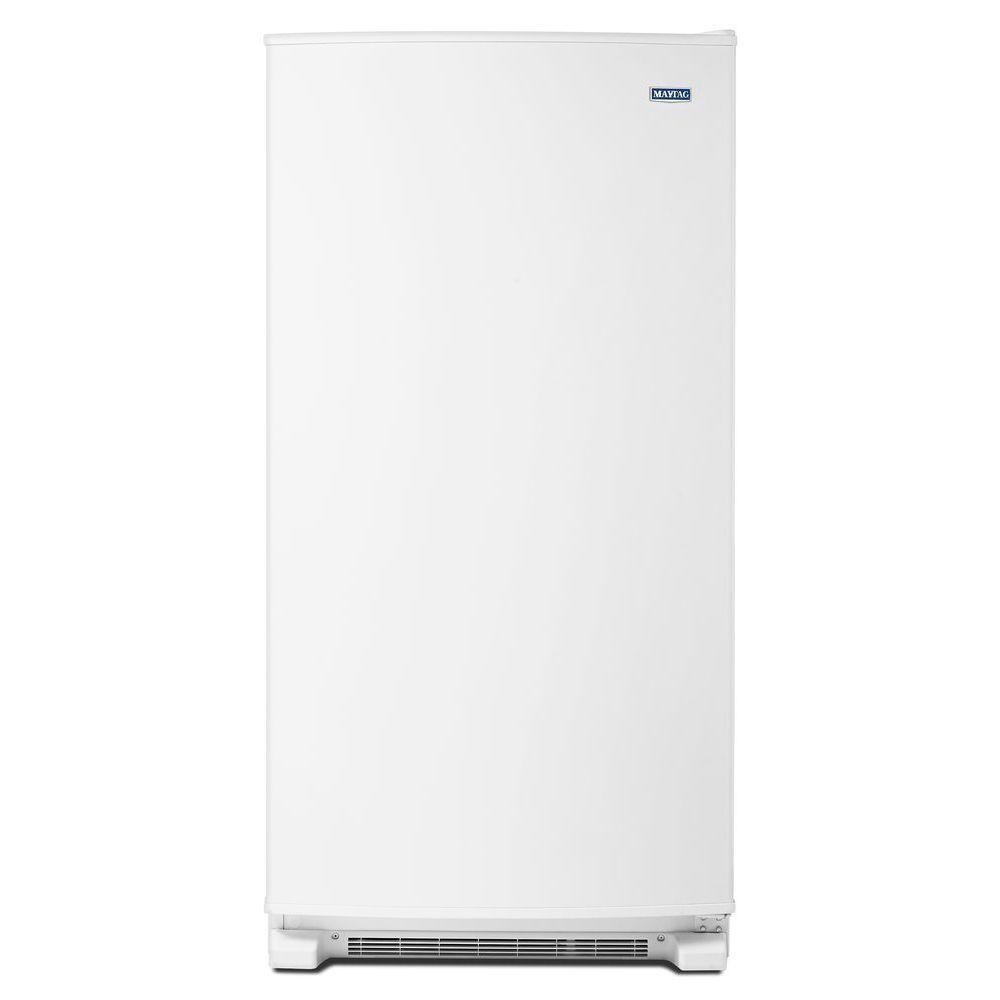 Small Stand Up Freezer 17 7 Cu Ft Frost Free Upright Freezer In White