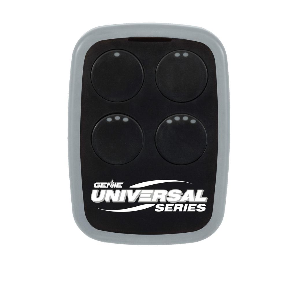 Garage Door Opener Remote Genie Universal 4 Button Garage Door Opener Remote