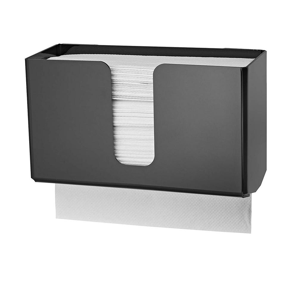 Wall Mount Paper Towel Dispensers Alpine Industries Acrylic Black Wall Mounted Paper Towel Dispenser